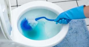 كيفية تنظيف الحمام من الكلس