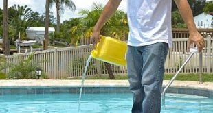 كلور حمامات السباحة